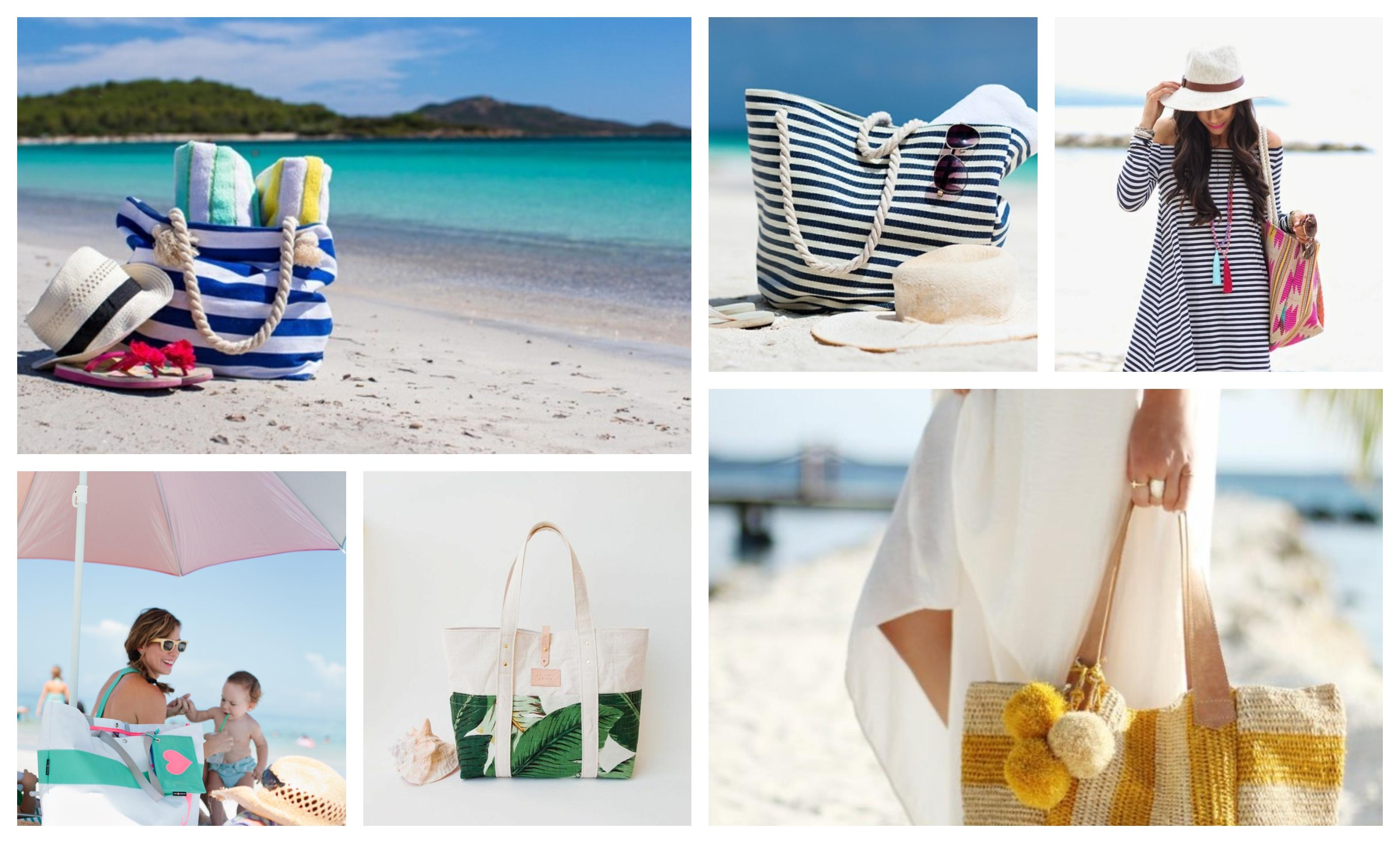 Sac de plage tendance, diy couture, photo de sac à la plage au bord de la mer, tuto couture, quel modèle de sac cette été