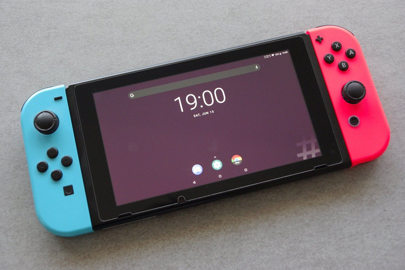 Il est désormais possible d'installer Android sur la console portable Nintendo Switch, grâce à une faille de son SoC
