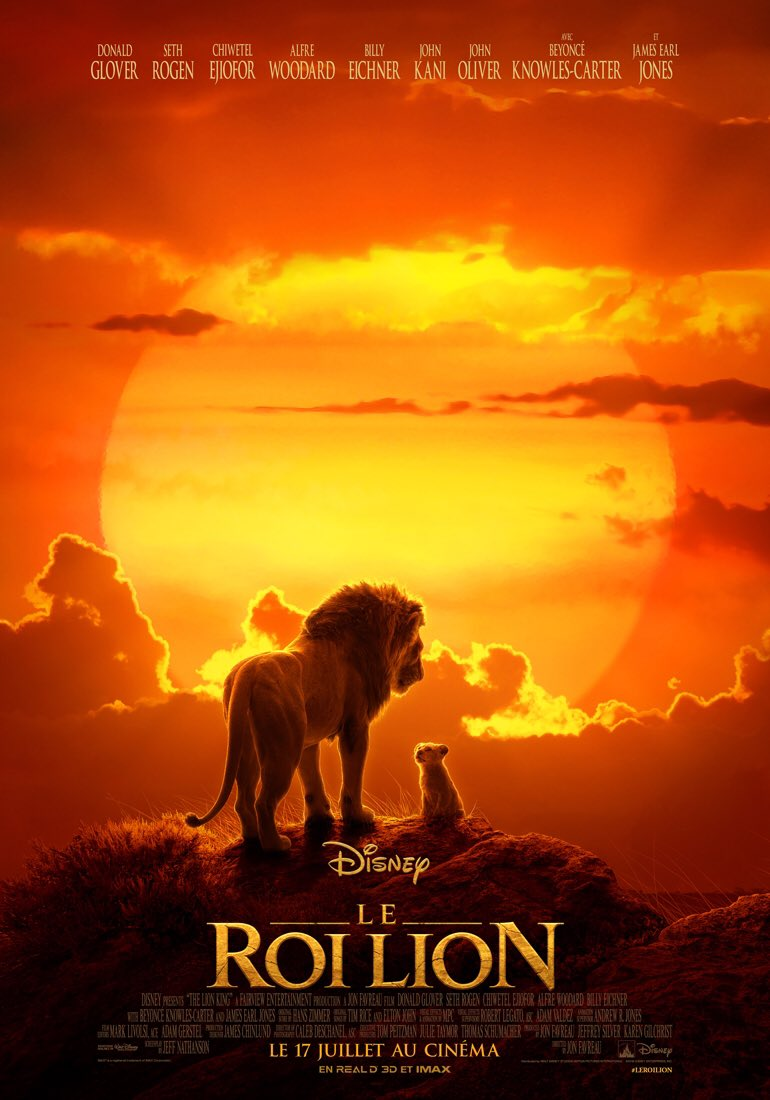 Le film Roi Lion sortira en salles en France le 17 juillet, incluant le morceau Spirit de Beyoncé