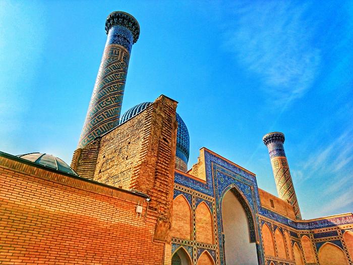 voyage en ouzbékistan sur les traces de la route de la soie, sites historique à samarcande, l'ancienne ville caravanière