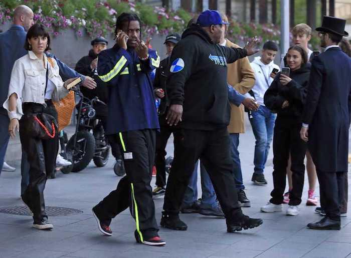après la bagarre de rue impliquant A$ap Rocky, le rappeur risquait 3 jours de garde à vue et des poursuites pour coups et blessures
