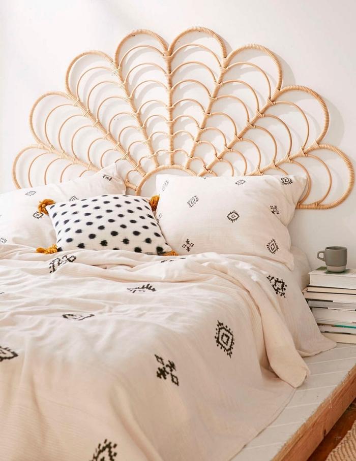▷ 1001 + modèles inspirants de tête de lit orientale