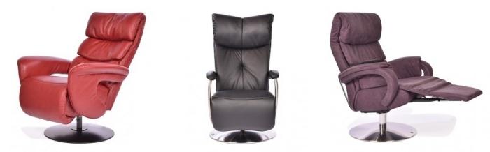 quel meuble relax pour bureau à domicile, modèle fauteuil de relaxation en cuir noir avec réglages et confort d'assise