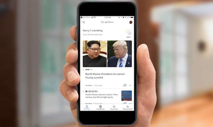 Google a annoncé sur Twitter que sa section Actualités sera mise à jour afin de mettre en avant les grands sites fiables et populaires