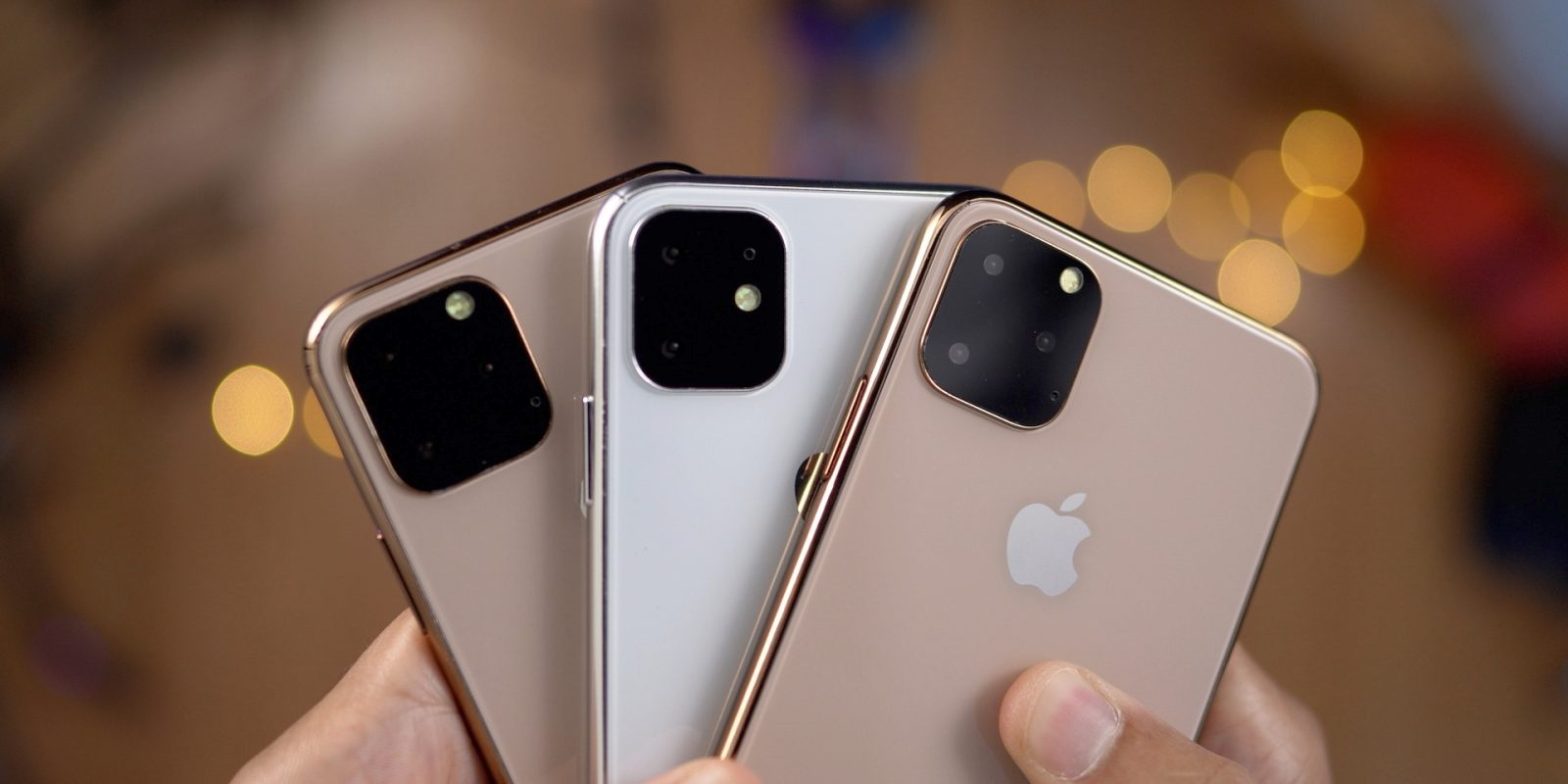 Remplaçant de XS XS Max et XR, iPhone 11 sera également décliné en 3 modèles