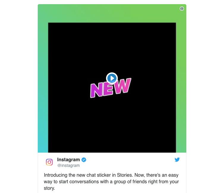 une nouvelle option permet de créer un chat avec ses abonnés à partir des stories Instagram