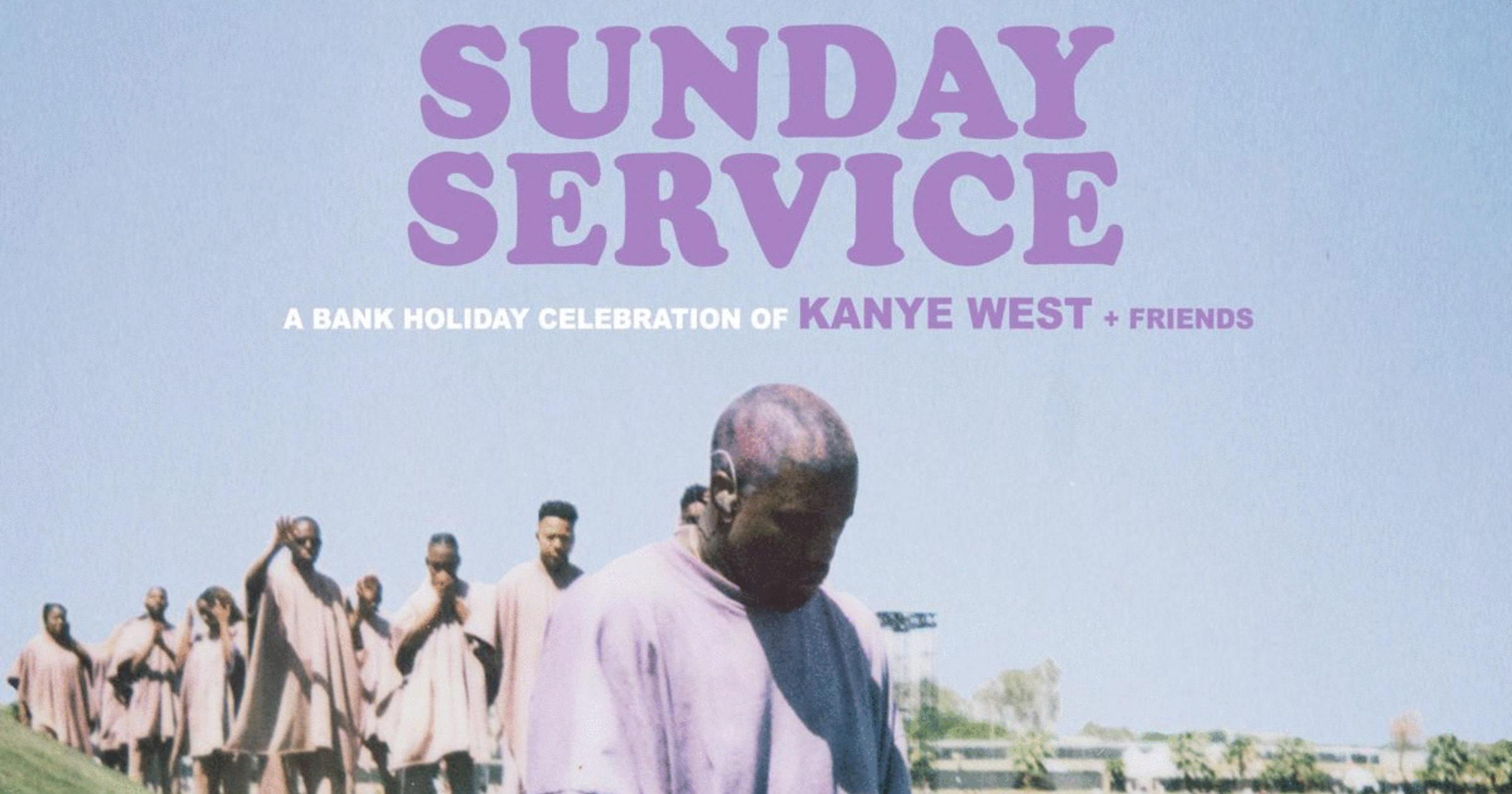 kanye a déposé le nom de son Sunday Service afin d'en faire une nouvelle marque de vêtements