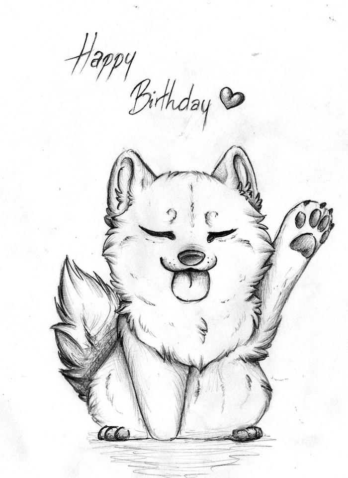 Lapin adorable coloriage gateau anniversaire, belle image carte d'anniversaire, joyeux anniv dessin