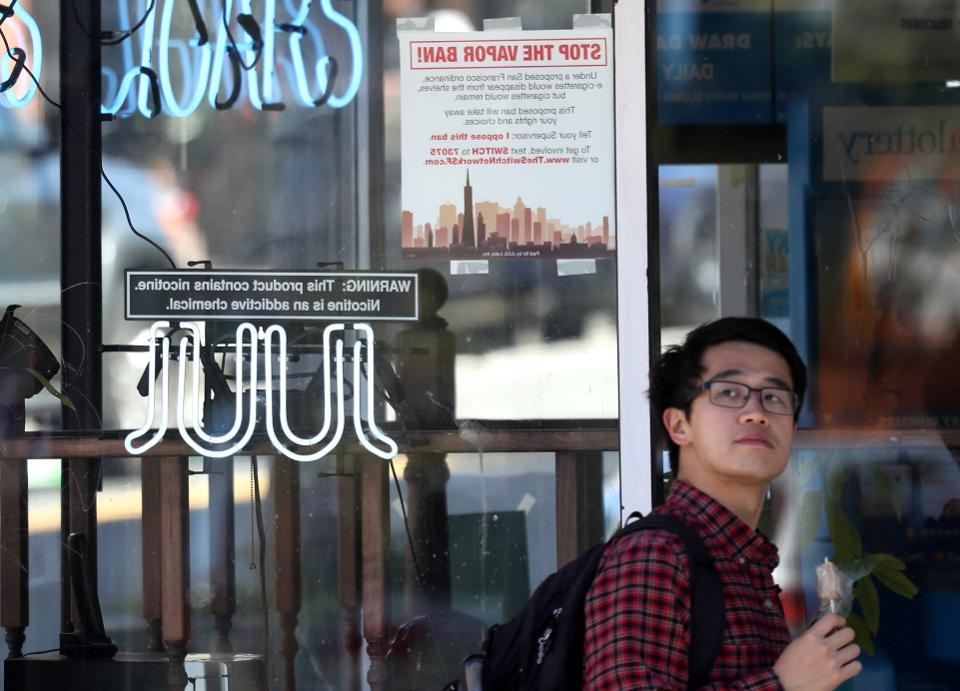 dès 2020, il sera interdit de vendre ou expédier des cigarettes électroniques non approuvées par la FDA à San Francisco