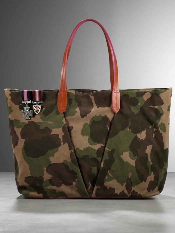 sac à main militaire tissu moderne, couture difficile, modèles de sacs en tissu à faire soi-même