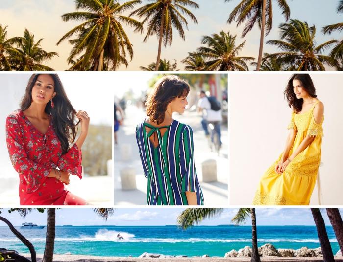 quelles couleurs vêtements pour femme été 2019, modèle de robe aux manches longues en rouge aux motifs floraux