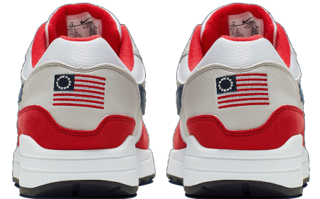 ▷ Nike annule la commercialisation de l'Air Max 1 Betsy Ross