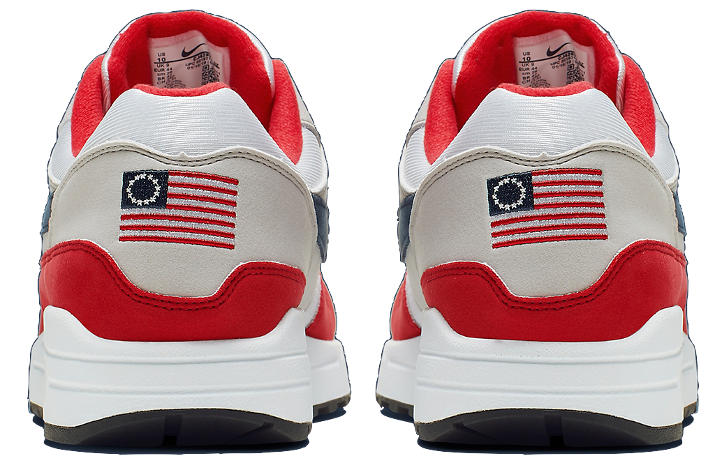 Suite aux remarques de Colin Kaepernick, Nike suspend la vente des Air Max 1 Independence Day arborant le drapeau Betsy Ross