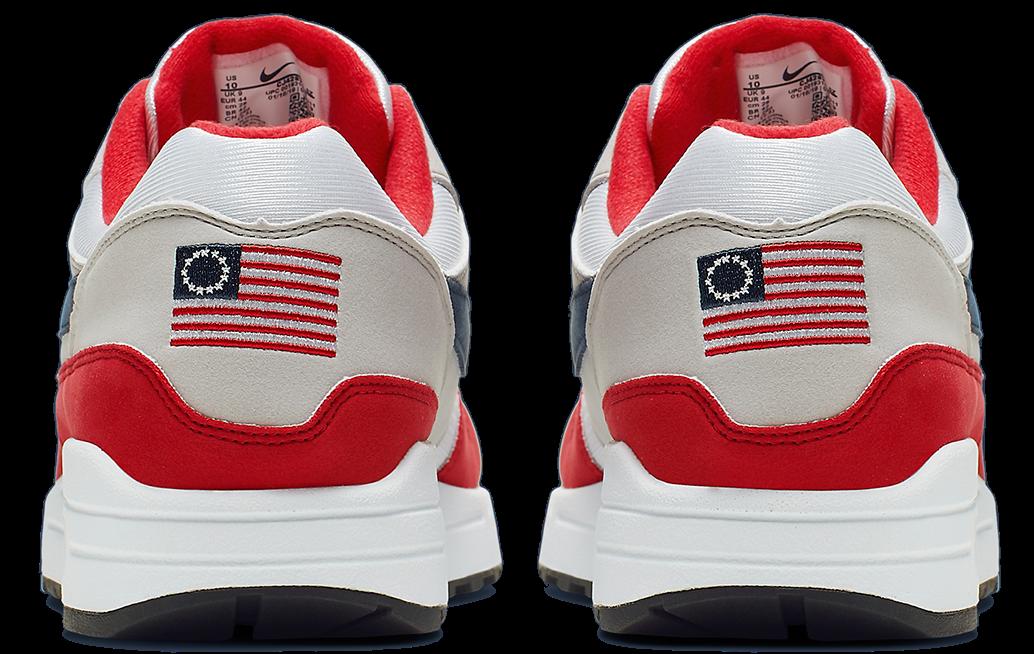 74df0f513d04 Nike annule la commercialisation de l'Air Max 1 Betsy Ross ...