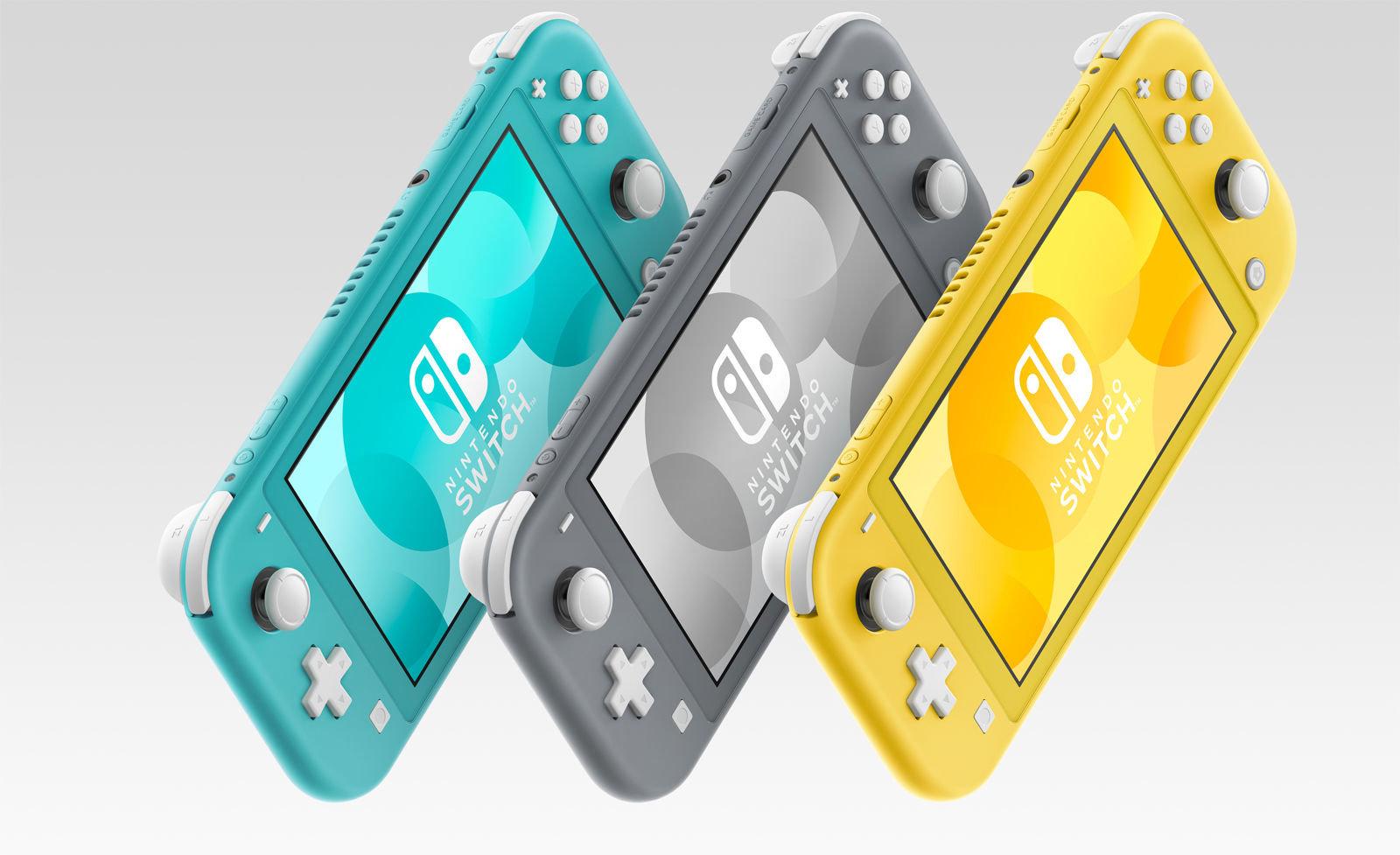 Nintendo annonce l'arrivée de Switch Lite, une version allégée de sa console portable