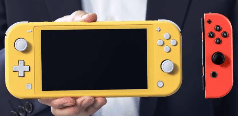 La Switch Lite de Nintendo est plus petite et plus légère que la version classique de la console portable et est dotée de manettes non amovibles