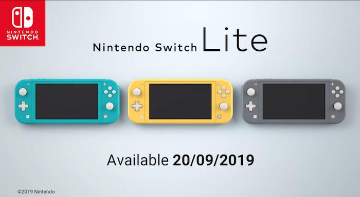 La Nintendo Switch standard pourrait recevoir le même processeur que sa petite soeur à venir la Switch Lite
