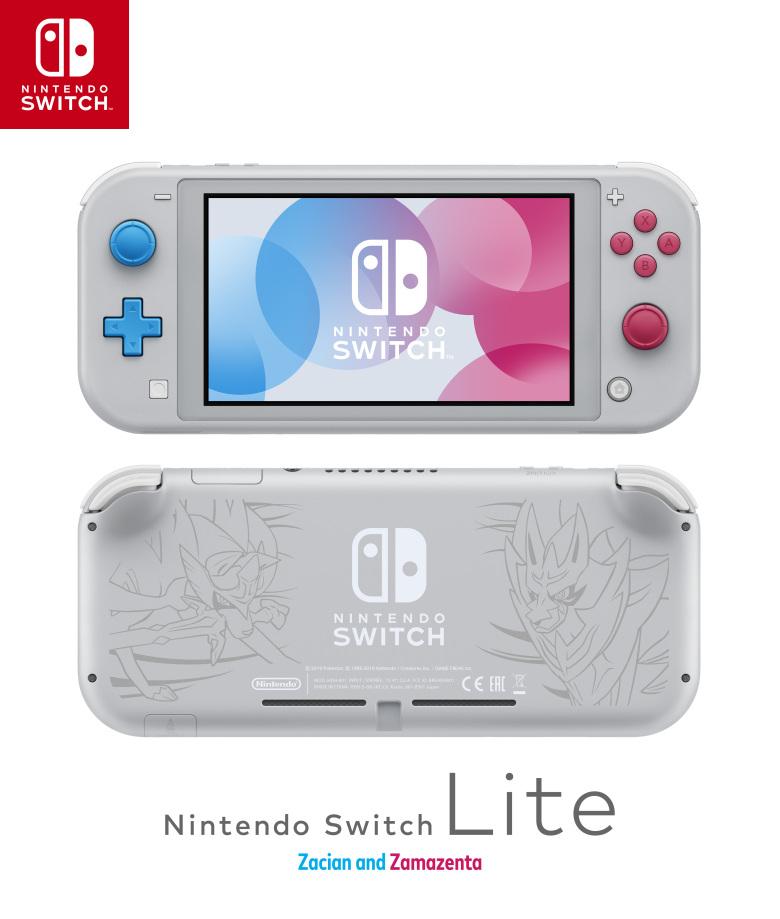 Nintendo a présenté la version Lite de sa console portable Switch, dont une édition limitée Pokémon devrait arriver en Novembre