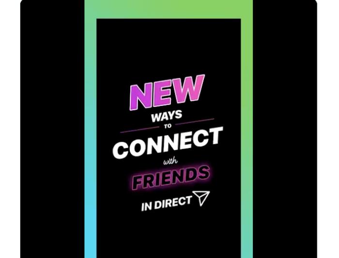 Instagram permet désormais aux auteurs de stories d'ouvrir une discussion de groupe via un nouveau sticker