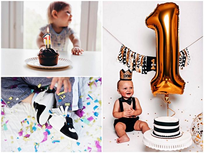 conseils et astuces pour organiser une fête d'anniversaire 1 an, idées décoration d'anniversaire 1 an pour fille et garçon