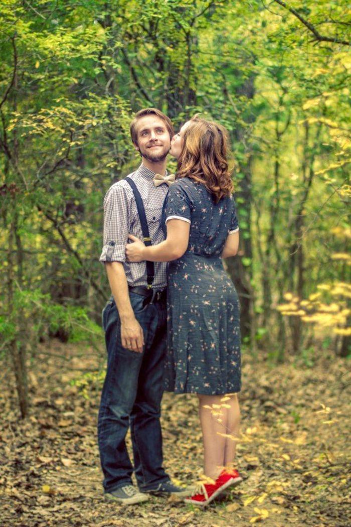 Couple vintage tenue, deguisement couple adorable, soirée guinguette comment s'habiller chouette idée, tenue femme basket rouge