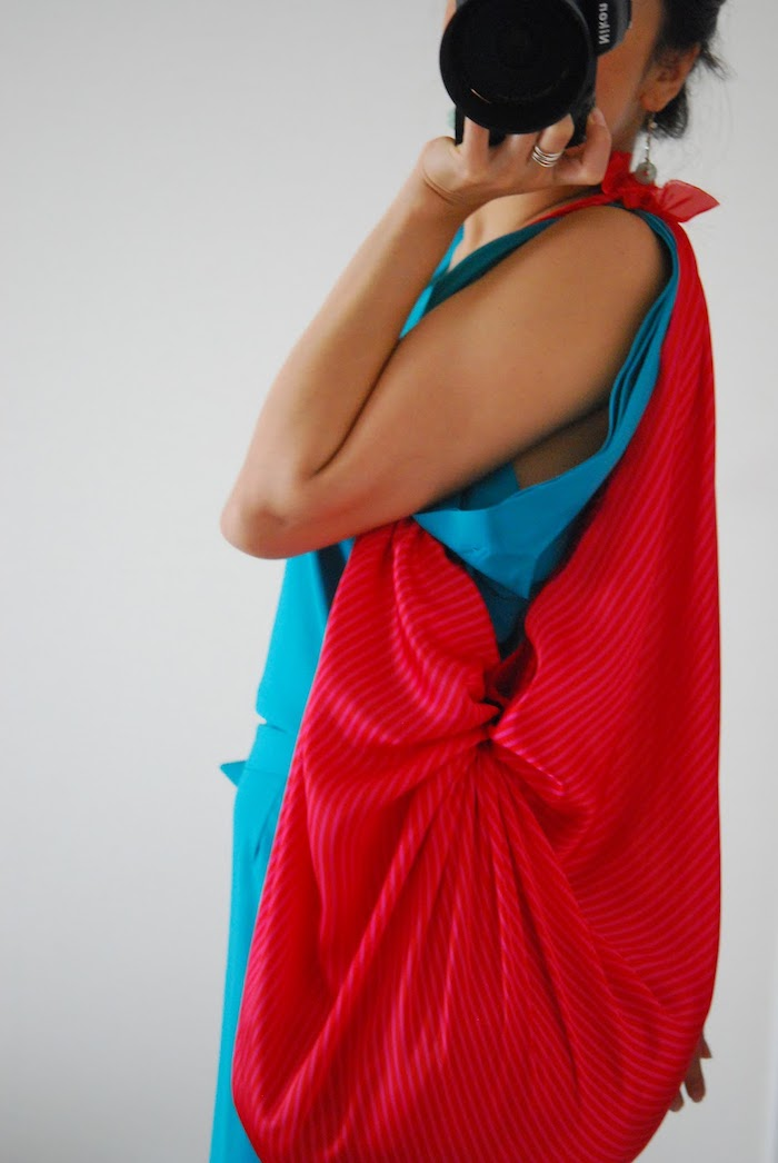 Rouge sac cabas simple, tuto sac à main, comment faire un sac en tissu soi meme