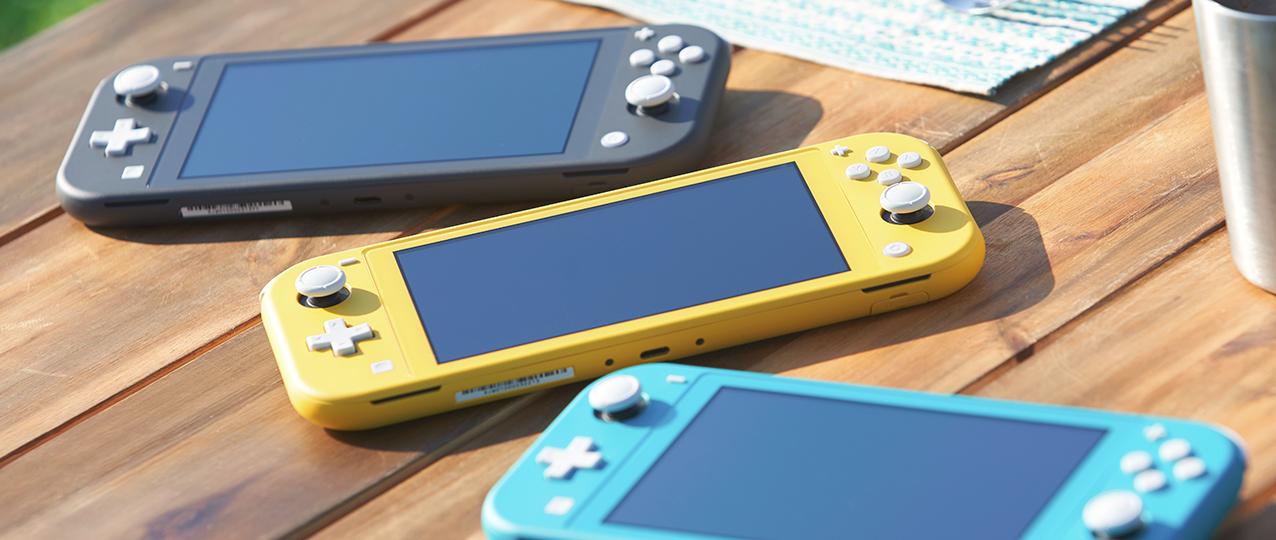 La nouvelle version allégée de la console portable Nintendo Switch Lite sera commercialisée à partir du mois de septembre prochain