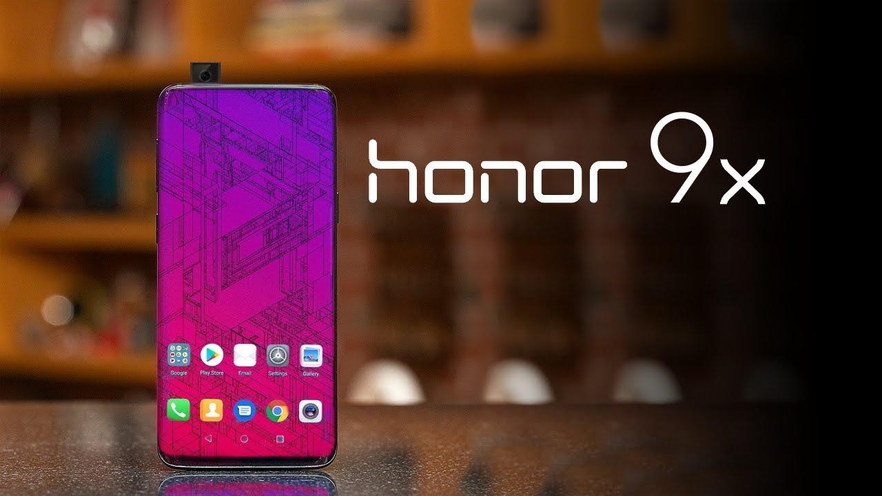Le Honor 9X sera disponible en Chine à partir du 30 juillet prochain, tandis que le 9X Pro le sera à partir du 9 août