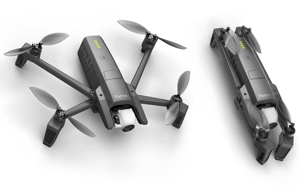 le fabricant Parrot va dorénavant concentrer ses efforts sur son drone haut de gamme pour professionnels Anafi