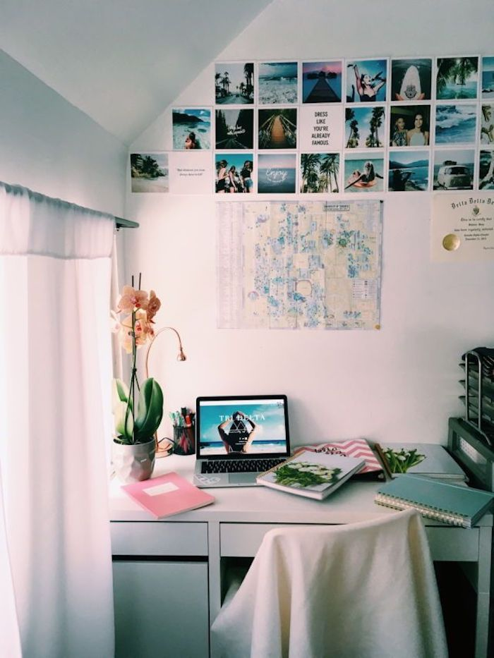 Belle photo bureau, aménagement bureau déco simple et belle chambre tumblr, simple déco, photos inspiration