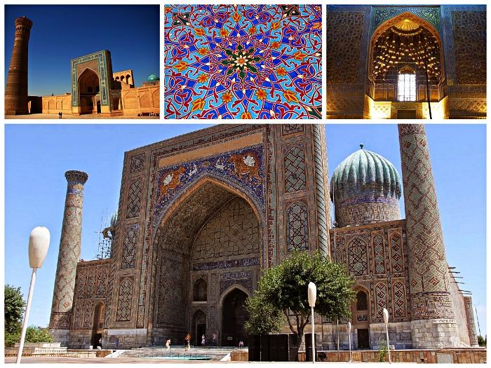 que faire en ouzbekistan, voyage en ouzbekistan dans les villes étapes de la route de la soie, architecture ancienne de la ville de khiva
