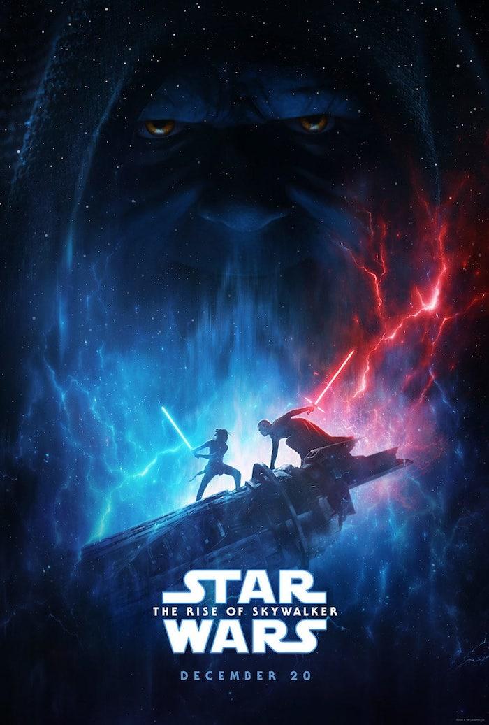 Avec la bande annonce, Disney a aussi présenté la première affiche de Star Wars : The Rise of Skywalker