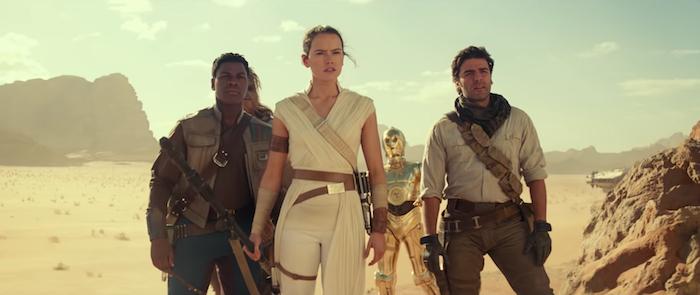 la bande annonce de Star Wars : The Rise of Skywalker ou L'Ascension de Skywalker de Disney joue sur la nostalgie et le suspense