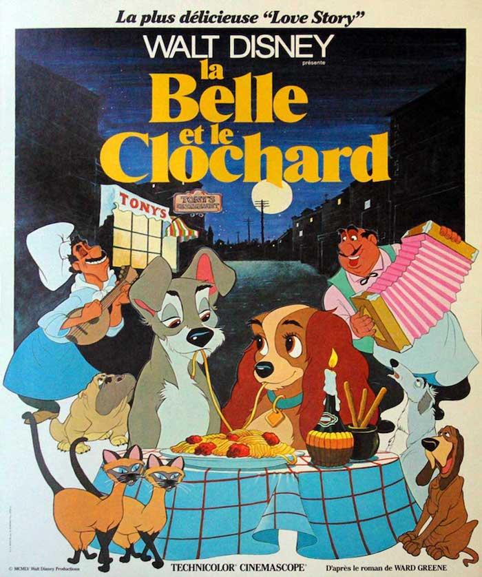 Disney dévoile la première photo des deux chiens du remake de La Belle et le Clochard, le classique de 1955