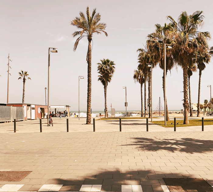 promenade dans le quartier des pêcheurs à Barcelone, idée visite quartier Barceloneta, que faire à Barcelone