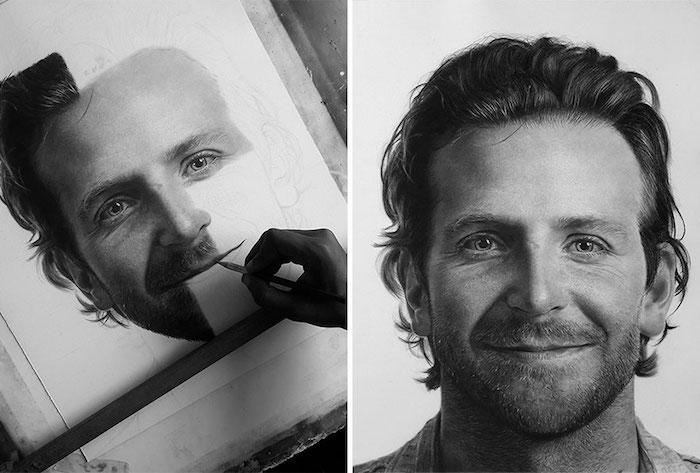 Dessin homme célèbre, dessin de photo, comment créer une image étape par étape, yeux dessin réaliste, idée dessin