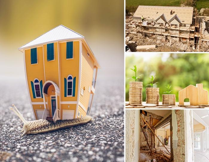 projet de construction maison neuve sur terrain nu, quel budget prévoir pour un projet de rénovation maison