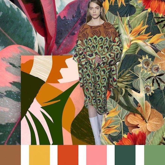 Les couleurs à porter cette automne, femme mode automne hiver 2019, comment s'habiller aujourd'hui