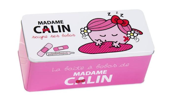 Modèle de boite de rangement rose pour décoration de chambre enfant fille