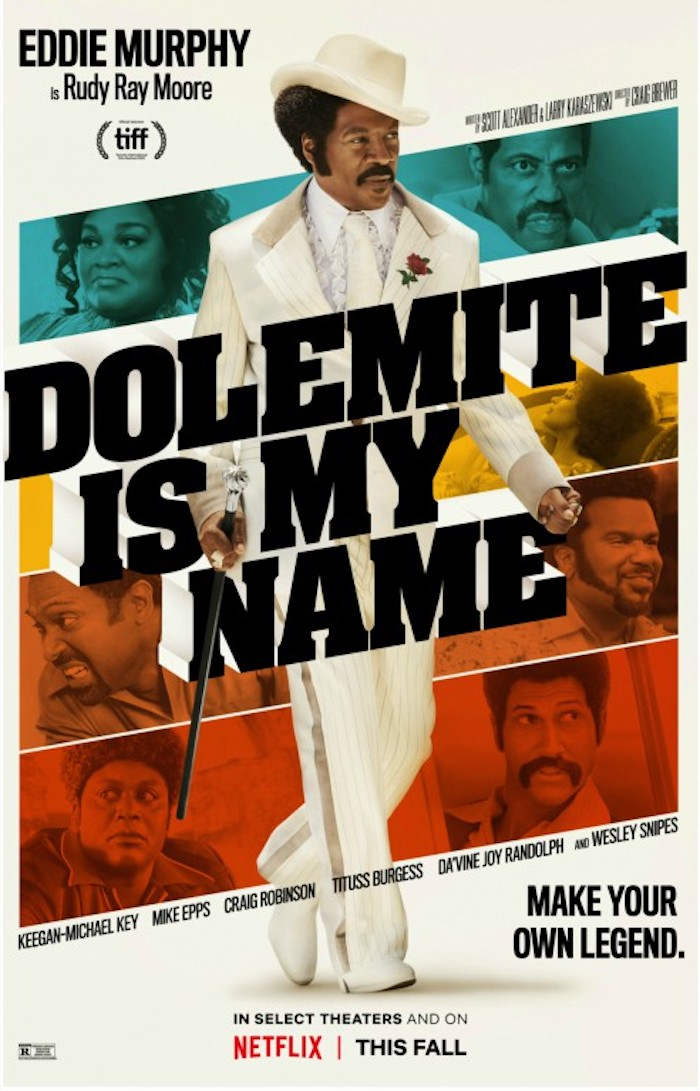 Eddie Murphy partage l'affiche de Dolemite Is My Name avec Snoop Dogg et Wesley Snipes
