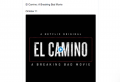 Netflix dévoile le trailer d'El Camino, le film tiré de la série Breaking Bad