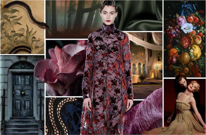 Les couleurs tendance 2020 automne-hiver, mode hiver 2019 2020, décontracté chic pour femme moderne, robe fleurie