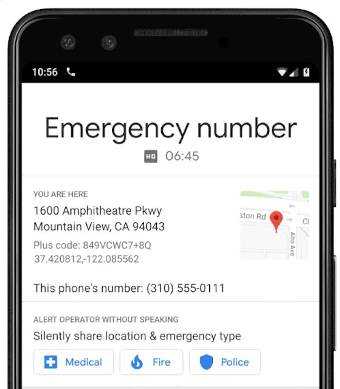 Google va doté ses téléphones Pixel d'un mode automatique d'appel d'urgence