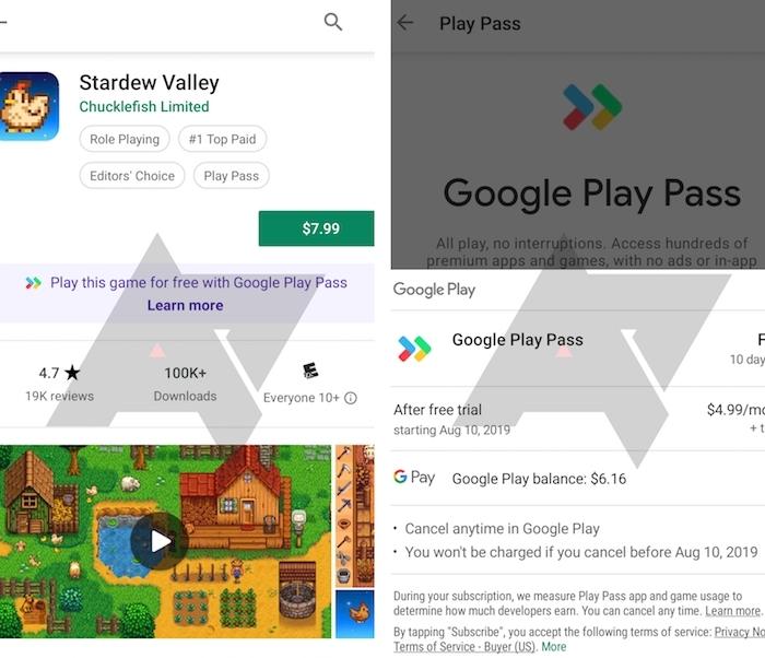 Google pourrait lancer son Play Pass dès l'automne prochain, en concurrence avec Arcade d'Apple
