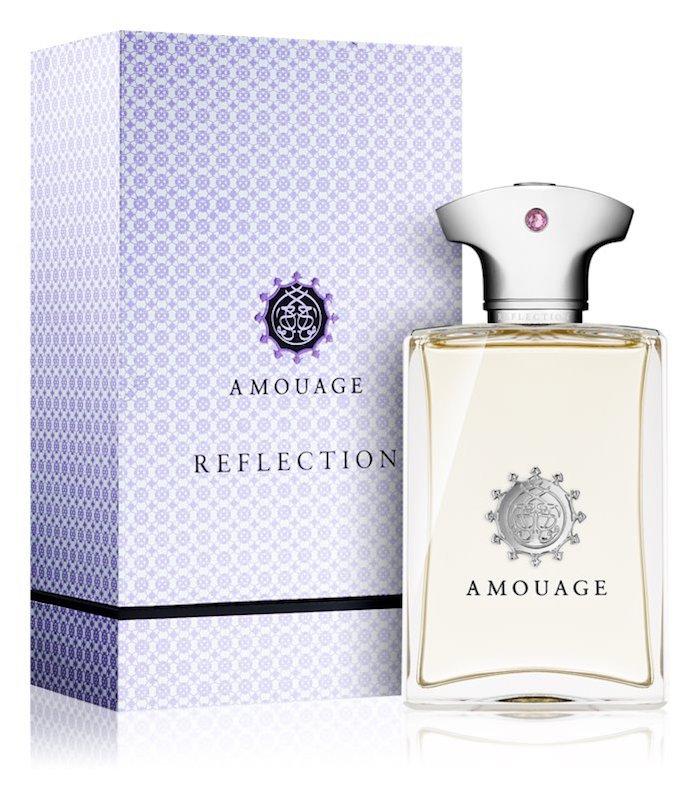idée quel parfum offrir en cadeau, marque de parfum de luxe amouage reflection