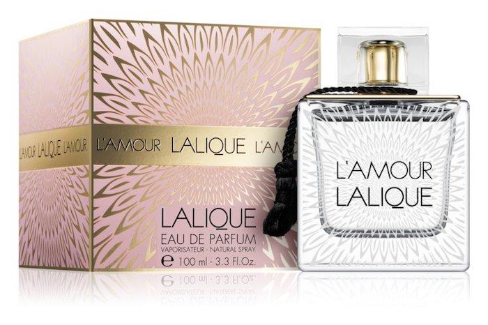 parfum amour de lalique à offrir, idée de parfum dans un beau flacon bijou, idee parfum de luxe