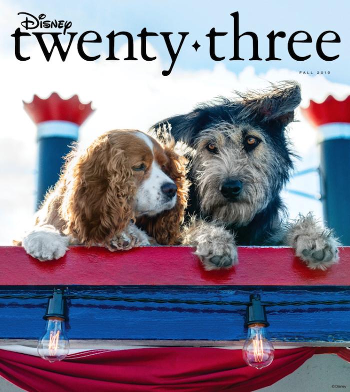 La magazine Disney Twenty Three a dévoilé la première image du remake de La Belle et le Clochard pour Disney Plus
