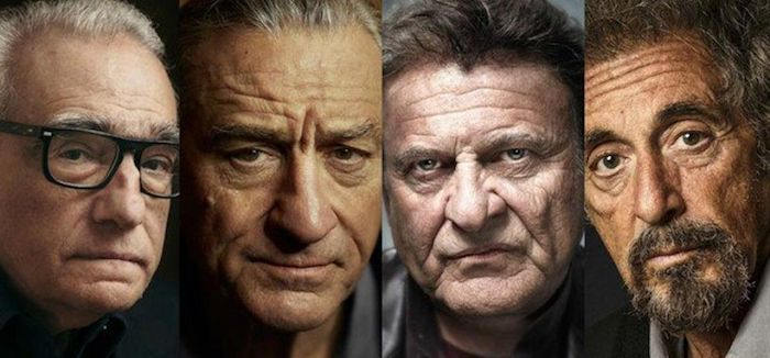 The Irishman avec Al Pacino,de Niro ou Joe Pesci fera la clôture du festival de cinéma BFI de Londres