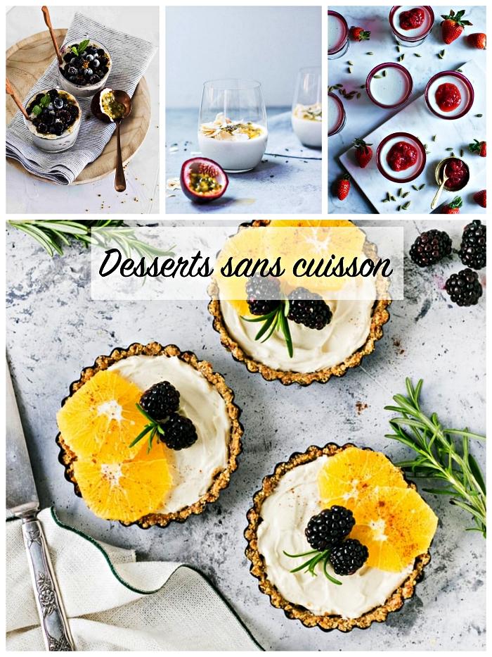 recettes faciles et rapides pour préparer un dessert sans cuisson idéale pour les journées de canicules