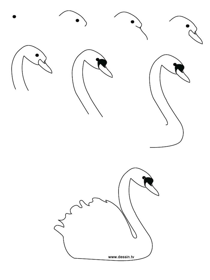 Signe dessin étape par étape simple et facile, dessin a reproduire, redessiner un beau dessin